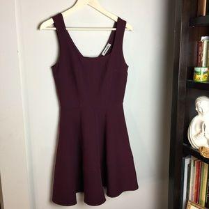 Burgundy ' Mystic ' Dress